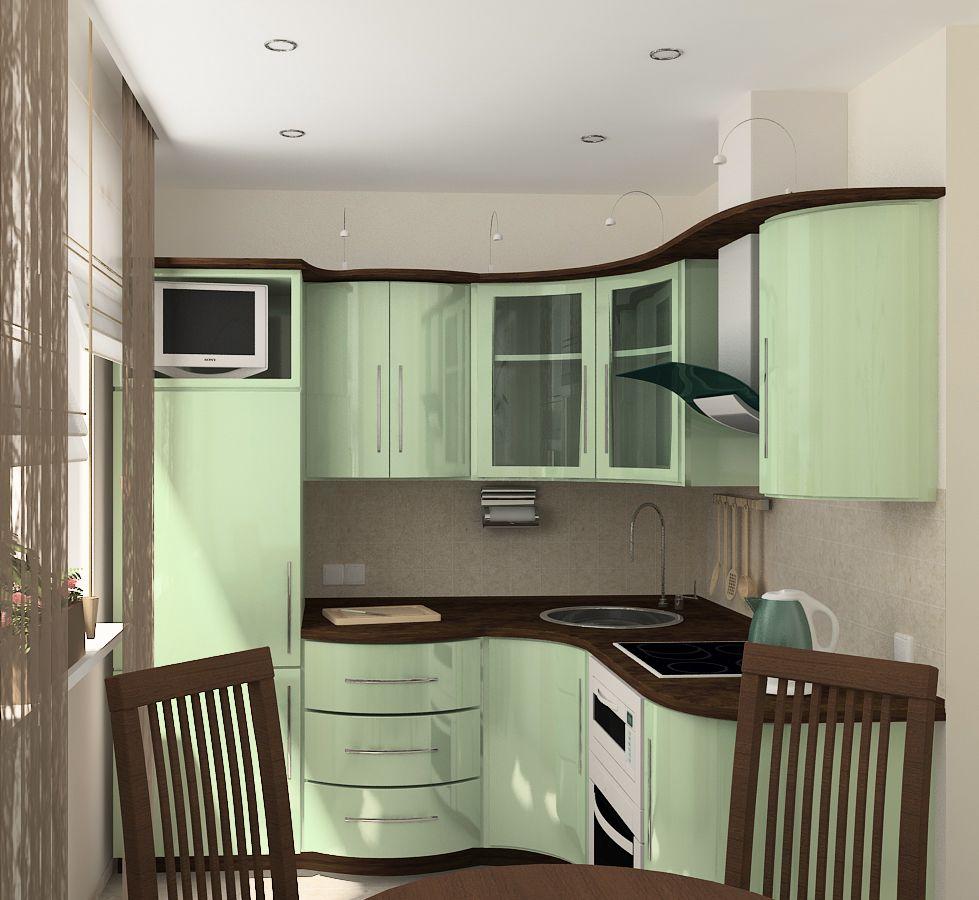 Дизайн кухни 6 кв м хрущевка с газовой колонкой