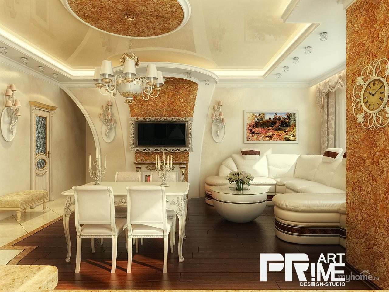 Классический ремонт квартиры дизайн