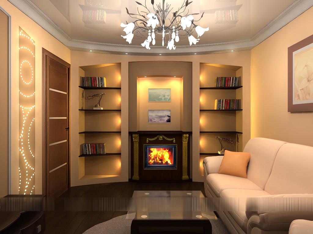 Дизайн зала квартир малогабаритных