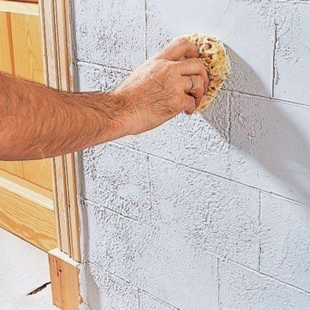 Как сделать кирпичную стенку своими руками