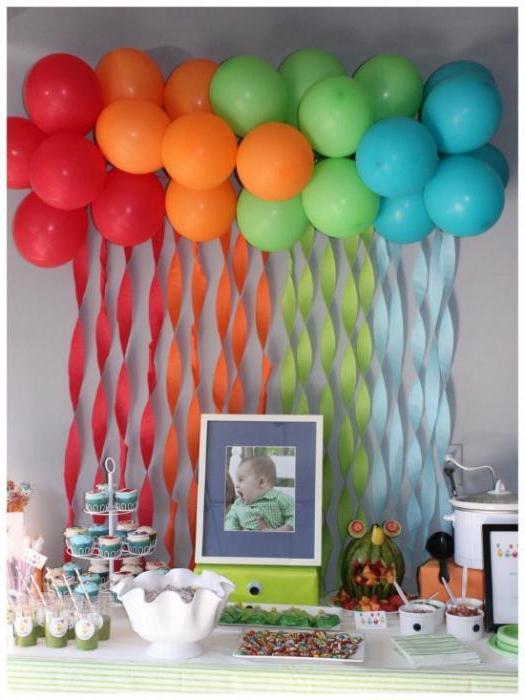 Как украсить комнату на день рождения 12 лет своими руками фото