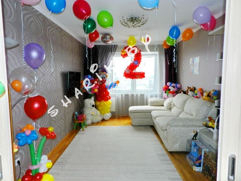 Оформление комнаты на детский день рождения