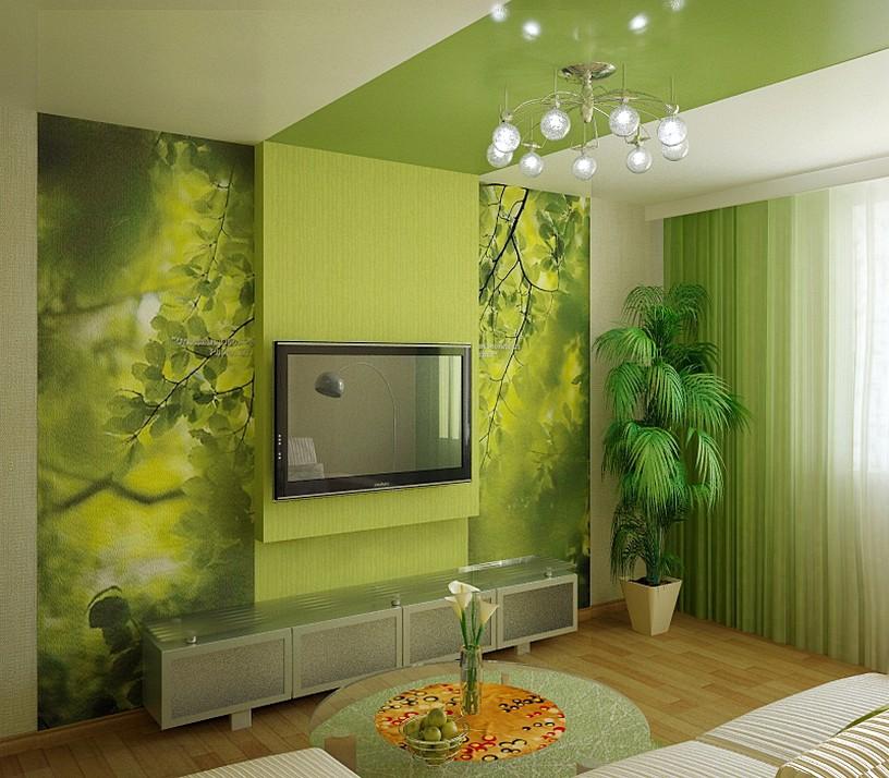 Зеленая Мебель Для Гостиной