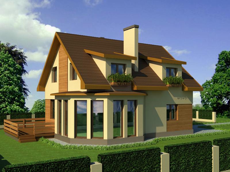 Дизайн дома готовых работ