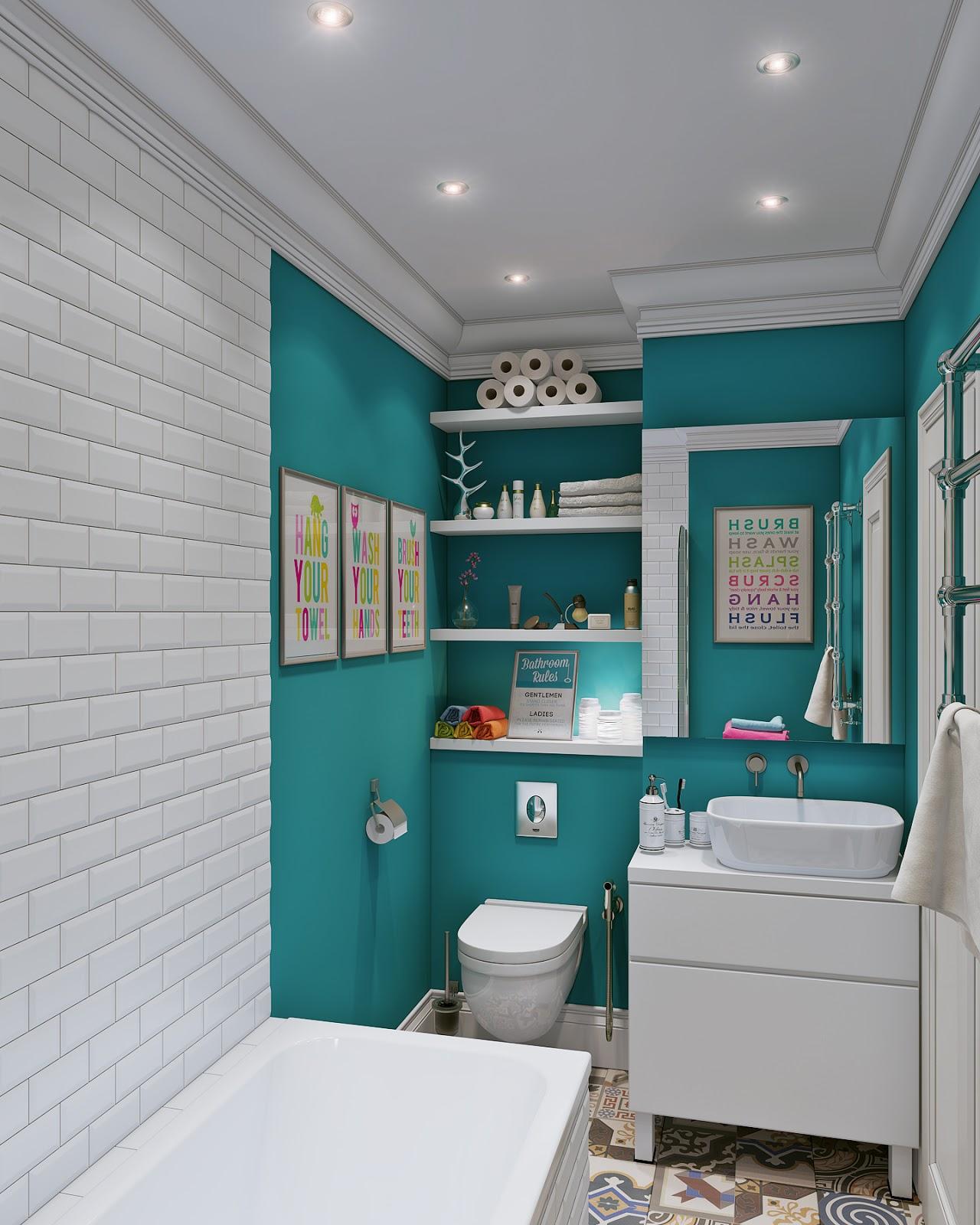 Квартирный вопрос фото интерьеров ванных комнат