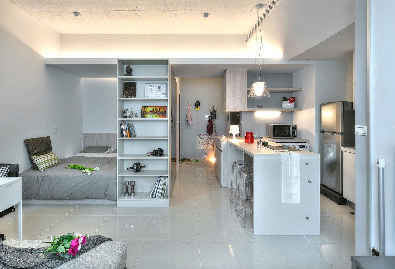 Дизайн однокомнатной квартиры не студии