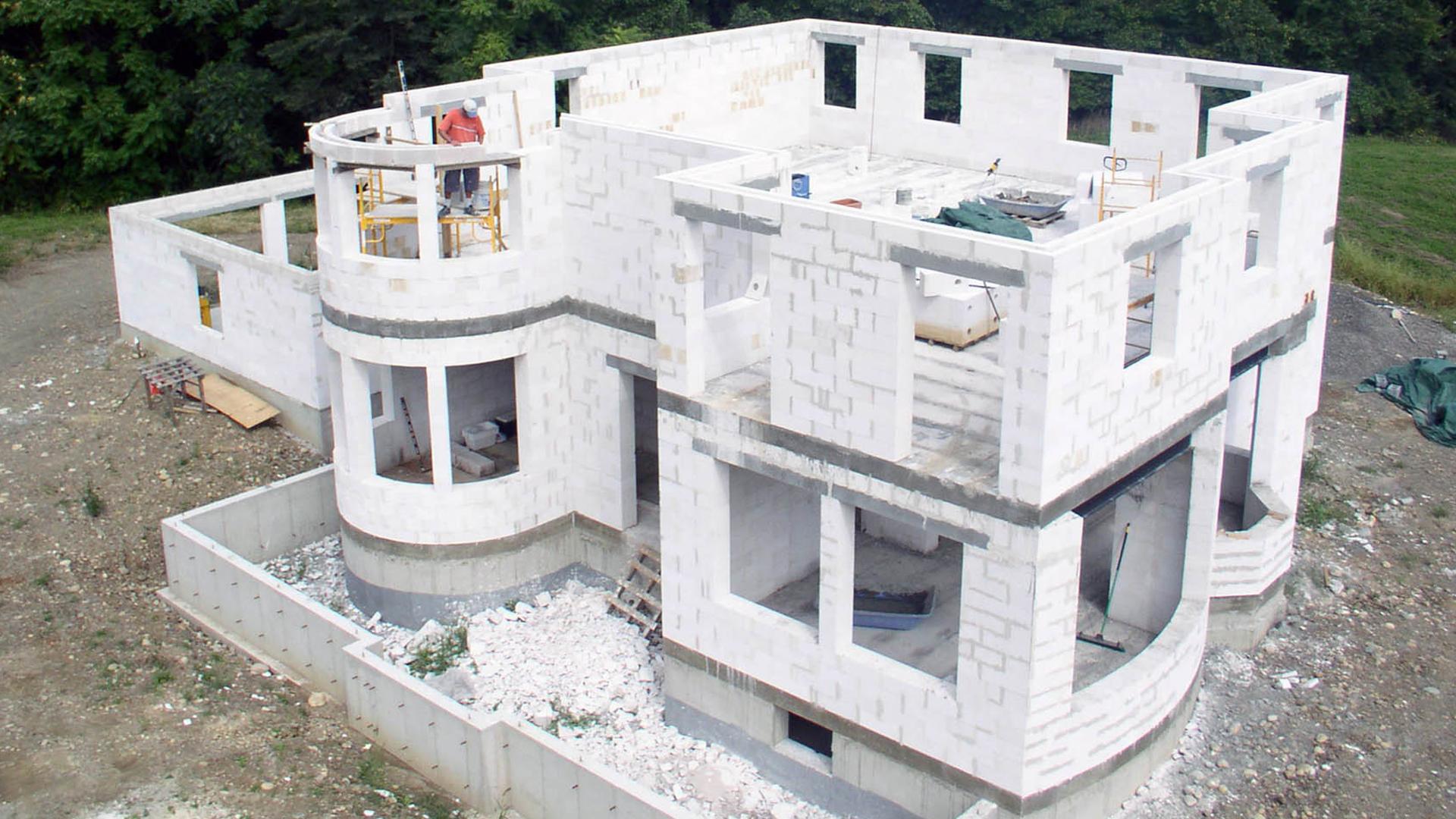 Дом из соломобетон своими руками