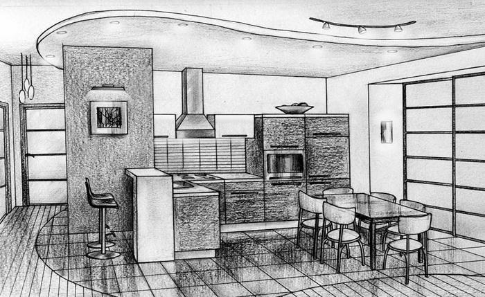 Кухня дизайн проекты
