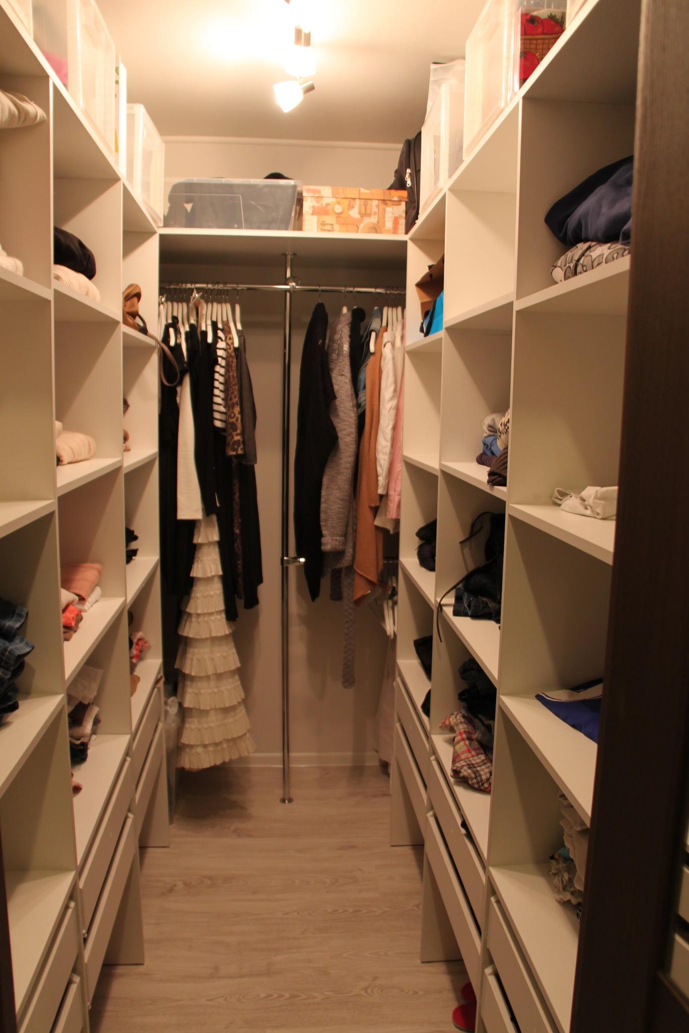 Маленькие гардеробные комнаты дизайн проекты