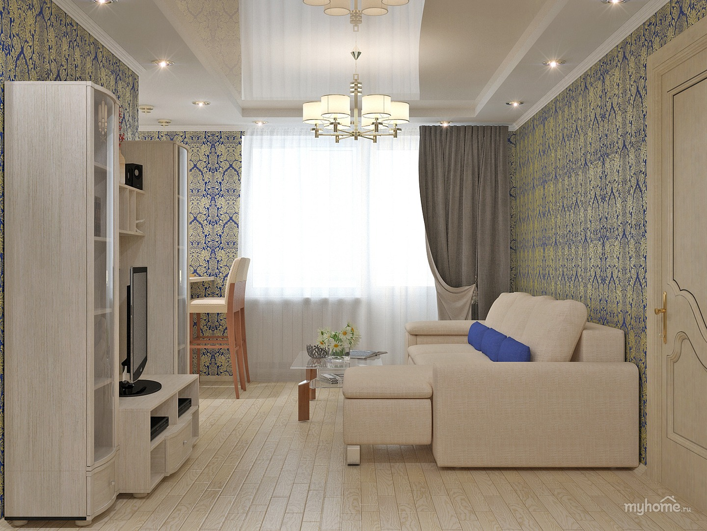 Дизайн квартир малогабаритных двухкомнатных квартир