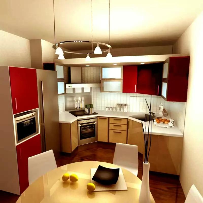 Дизайн ремонт кухня 7 кв.м дизайн