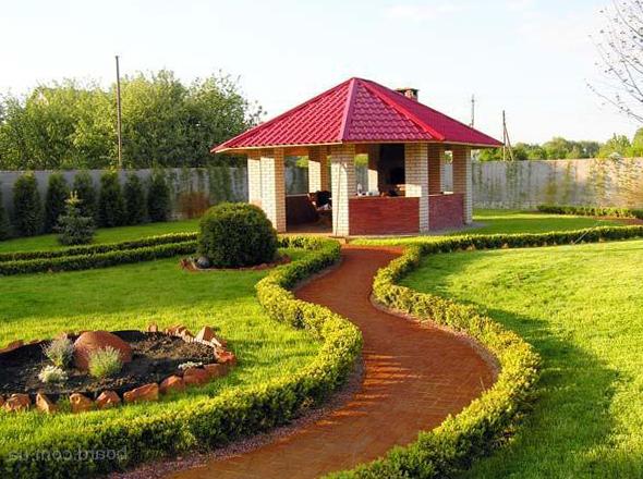 Ландшафтный дизайн загородного дома своими руками фото фото 491
