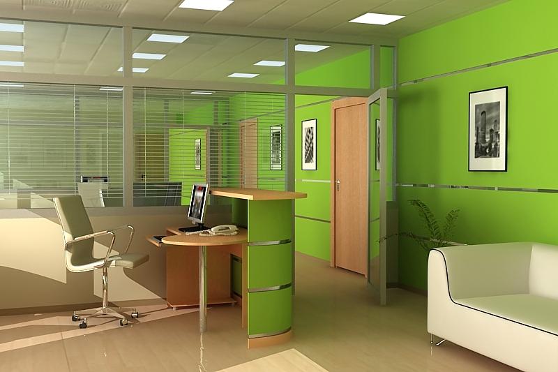 Современный дизайн офисных помещений примеры