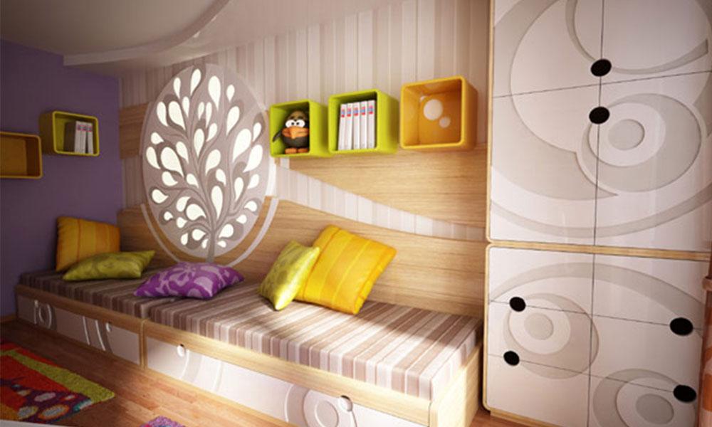 Дизайн комнаты для двух взрослых детей