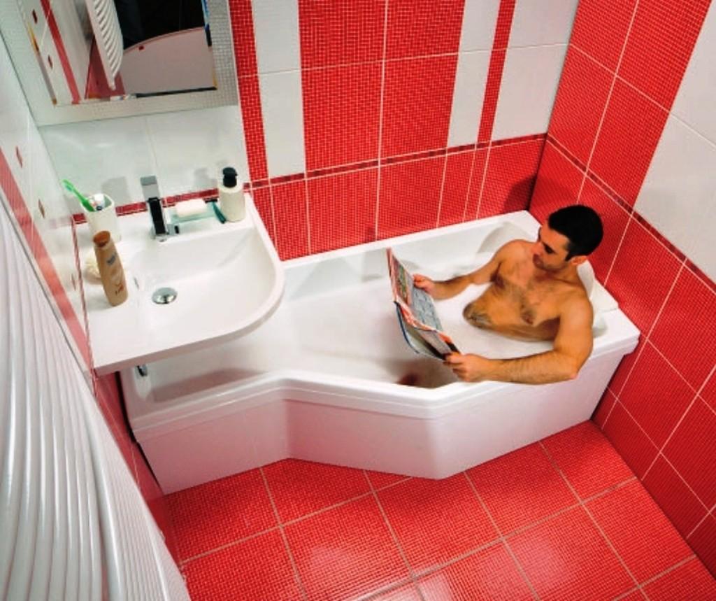 Как сделать ремонт в маленькой ванной с туалетом 72