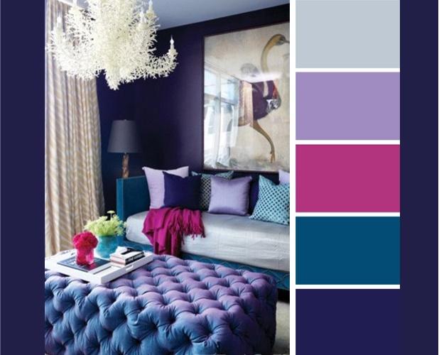 Дизайн комнаты в цветовой гамме