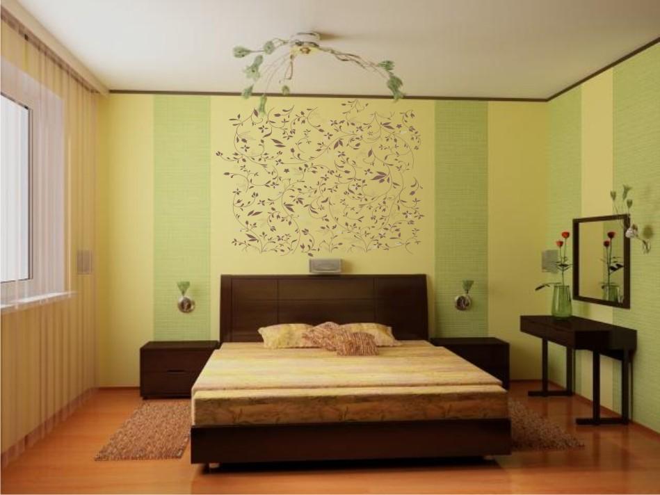Дизайн спальни обои фото