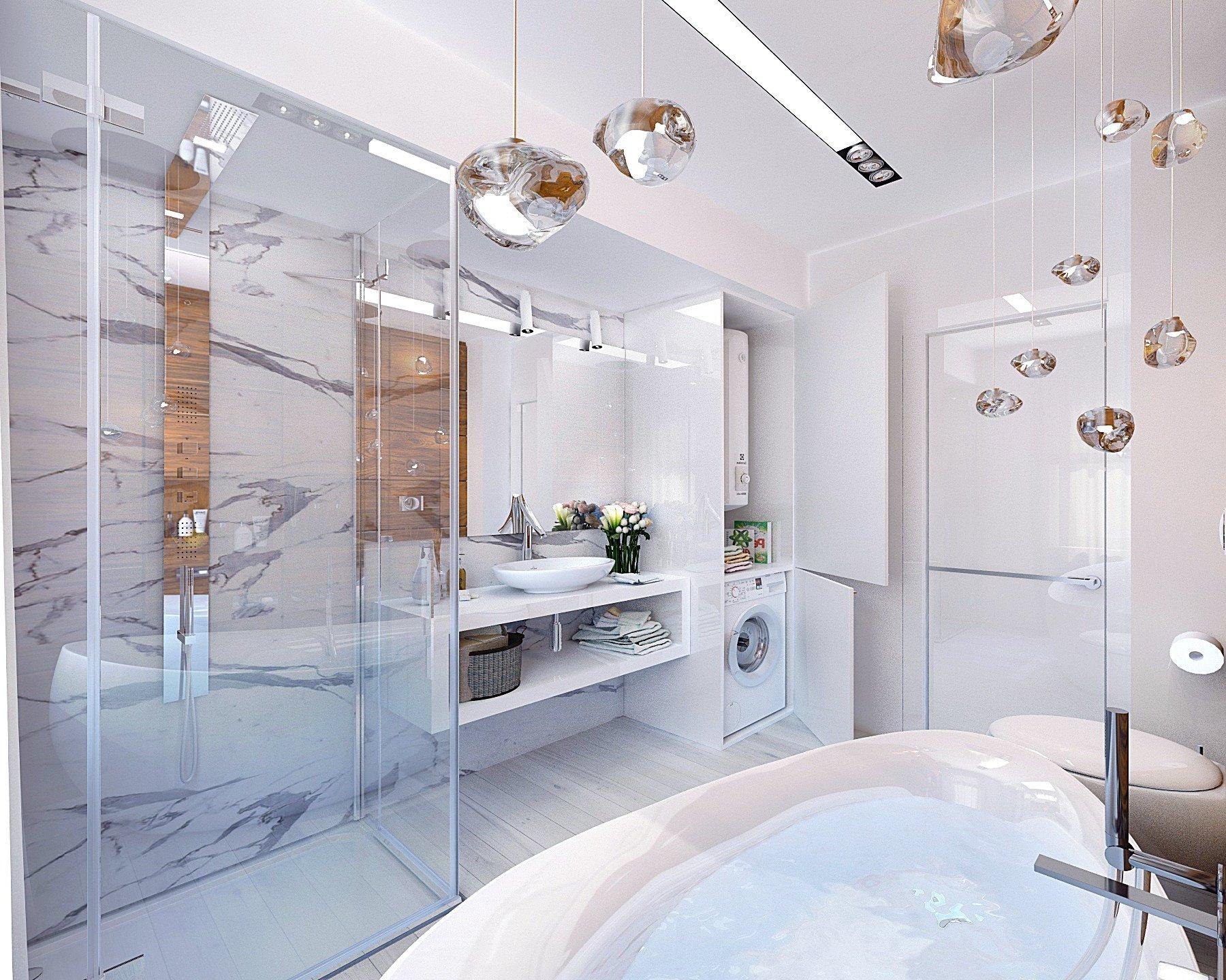 Дизайн ванной комнаты 8 кв м