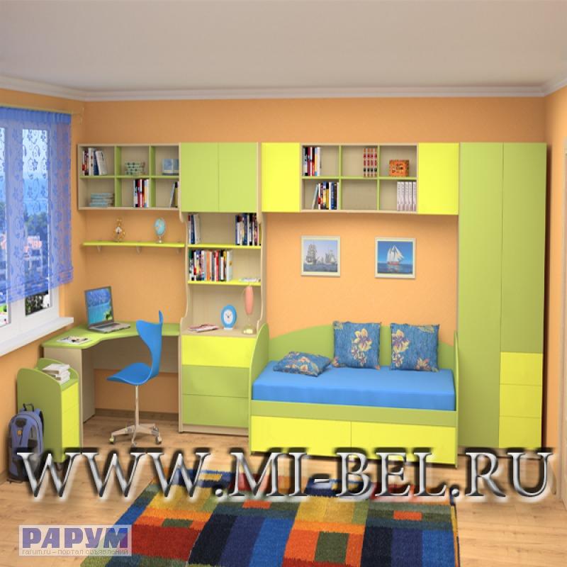 """Мебель в детскую комнату в москве """" современный дизайн."""