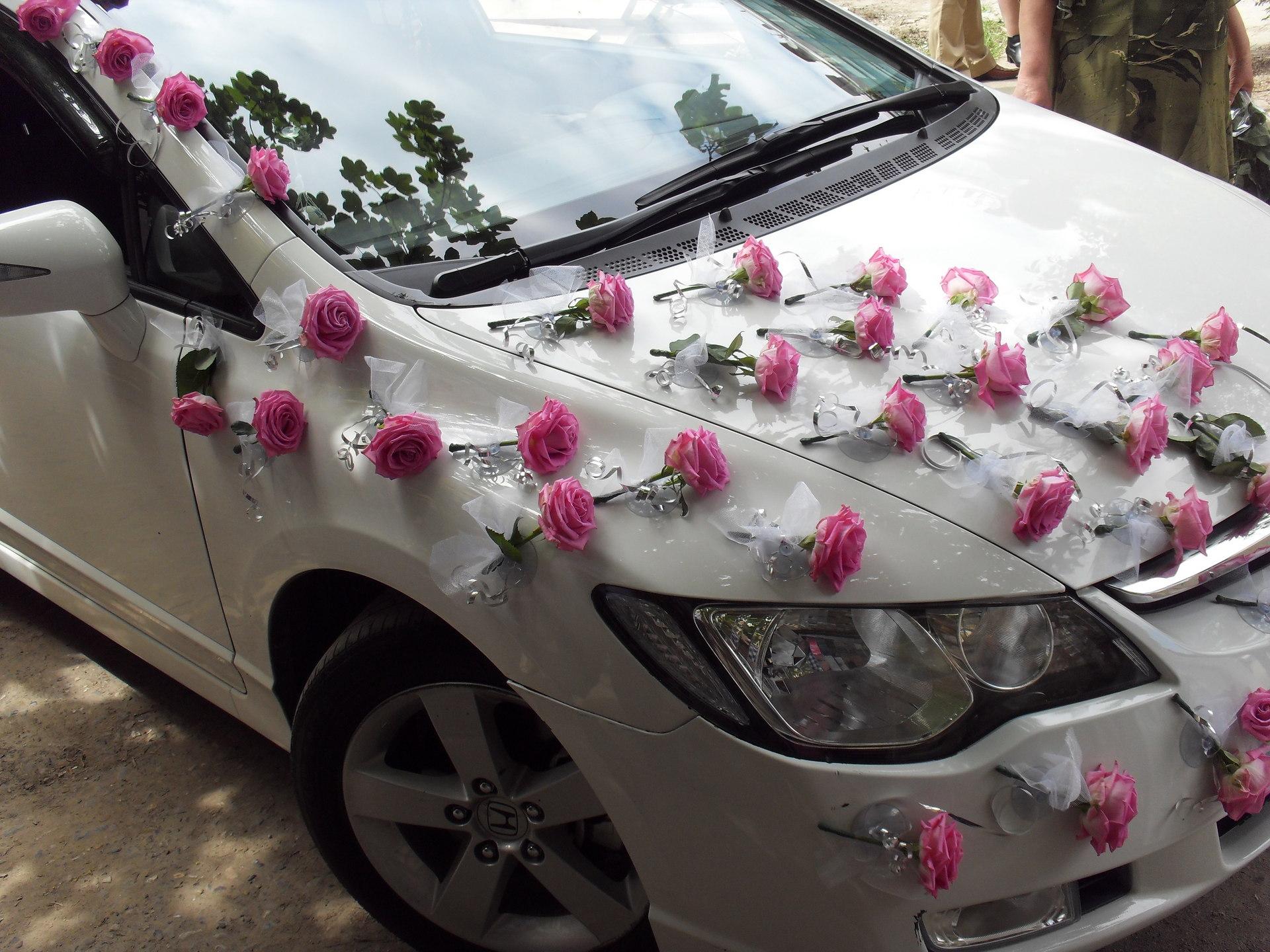 Фото свадебные украшения