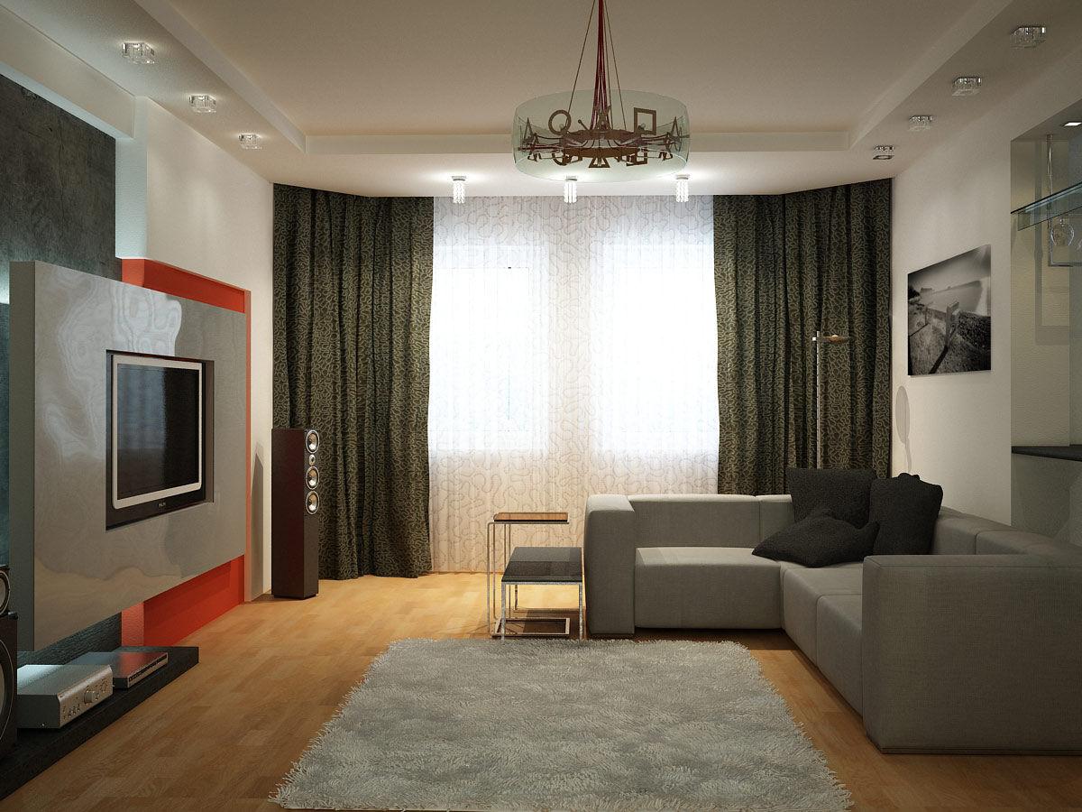 Фото и дизайн ремонта 2-х комнатных квартир