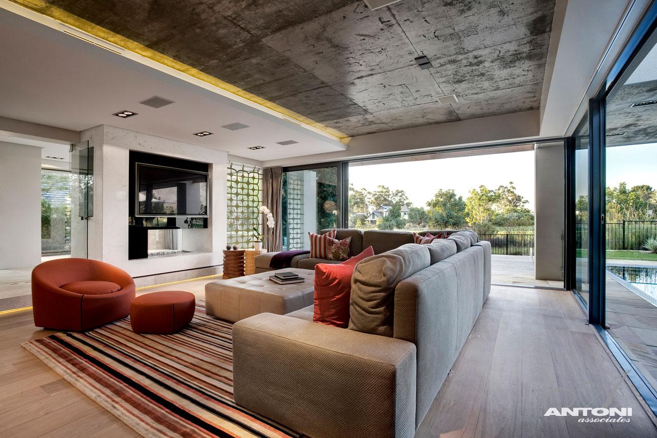 Стильный дизайн загородных домов