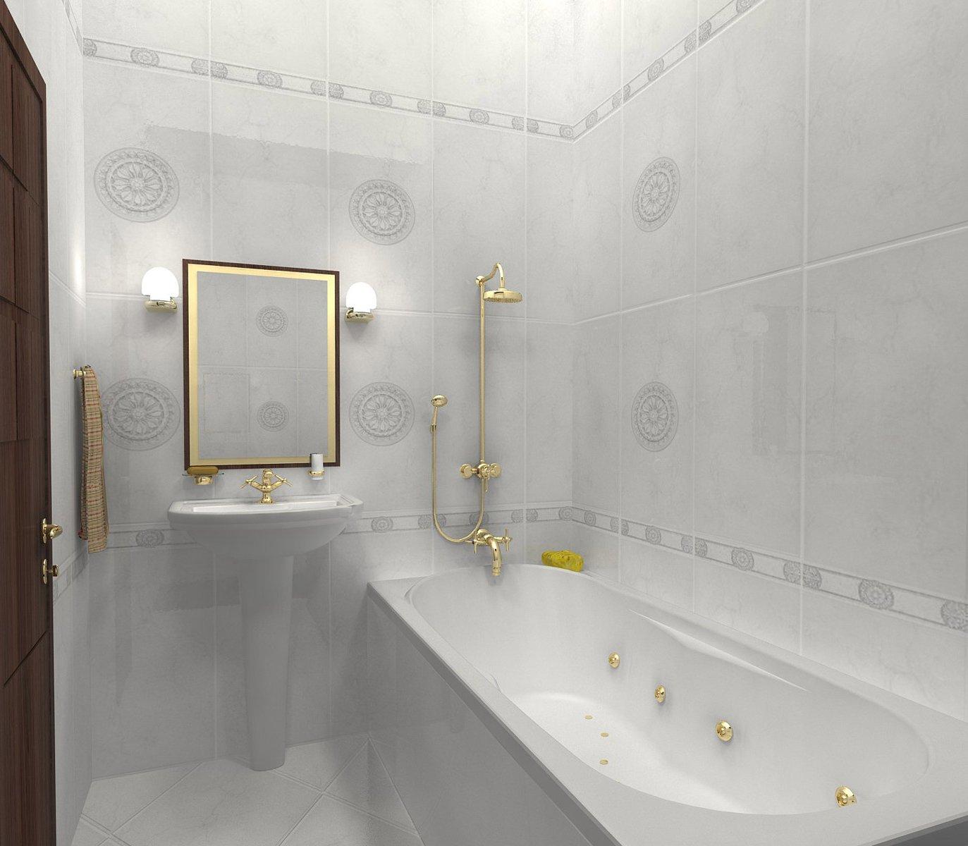 Дизайн отделки ванных комнат плиткой фото