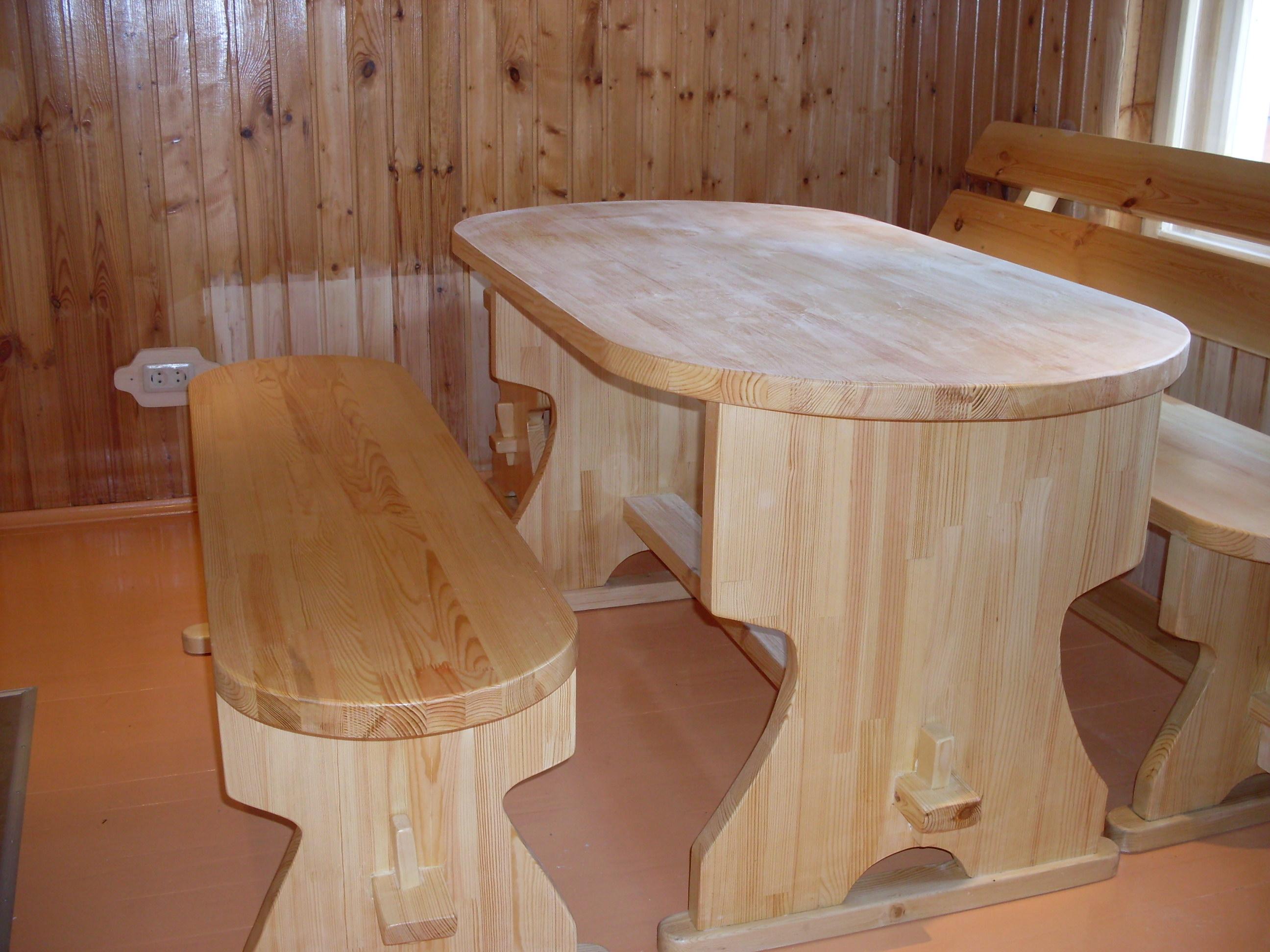 Столики для бани своими руками
